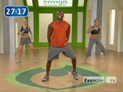 Exercise tv's bootcamp with Kendell Hogan