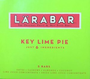 box of key lime pie Larabars